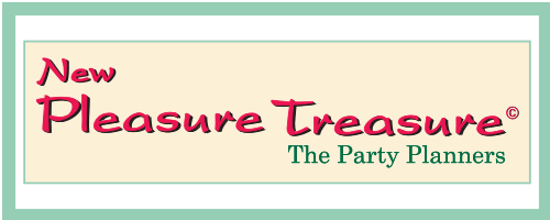 New Pleasure Treasure – Birthday Party Planners & Shop Retina Logo