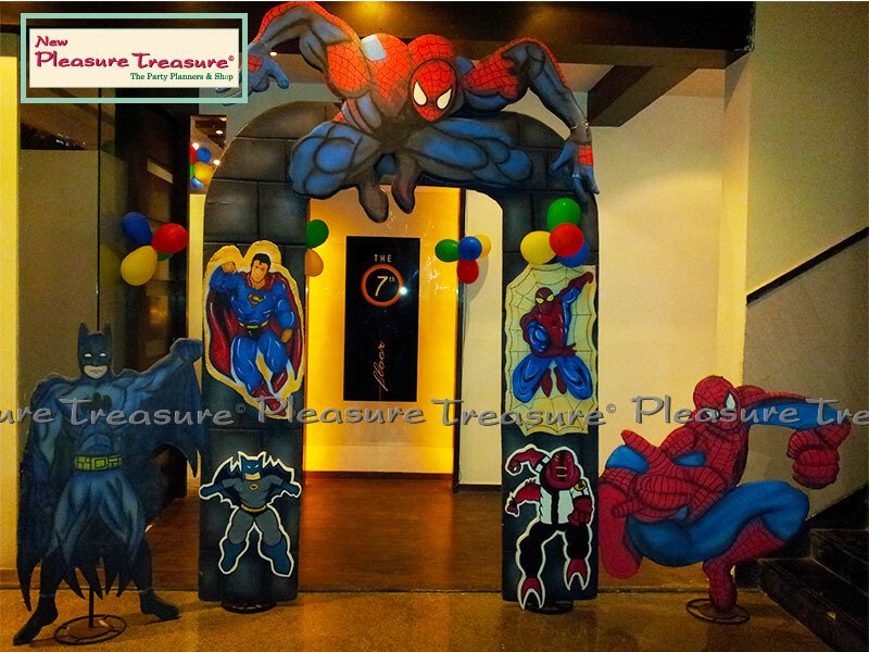 theme based kids birthday party decoration